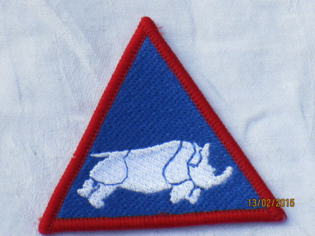 1st UK Armoured Division,farbig, TRF, Patch, Abzeichen