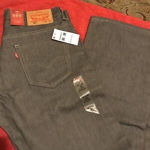 Nwt Hommes 30x30 Straight Jeans 569 Classique Levis Loose q1fwxP0na