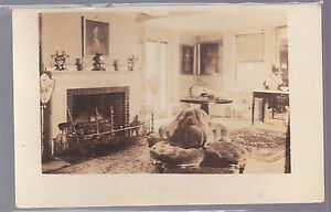 RPPC-The-Long-Room-Home-Presidents-Adams-Street-Quincy-Massachusetts-MA-Postcard