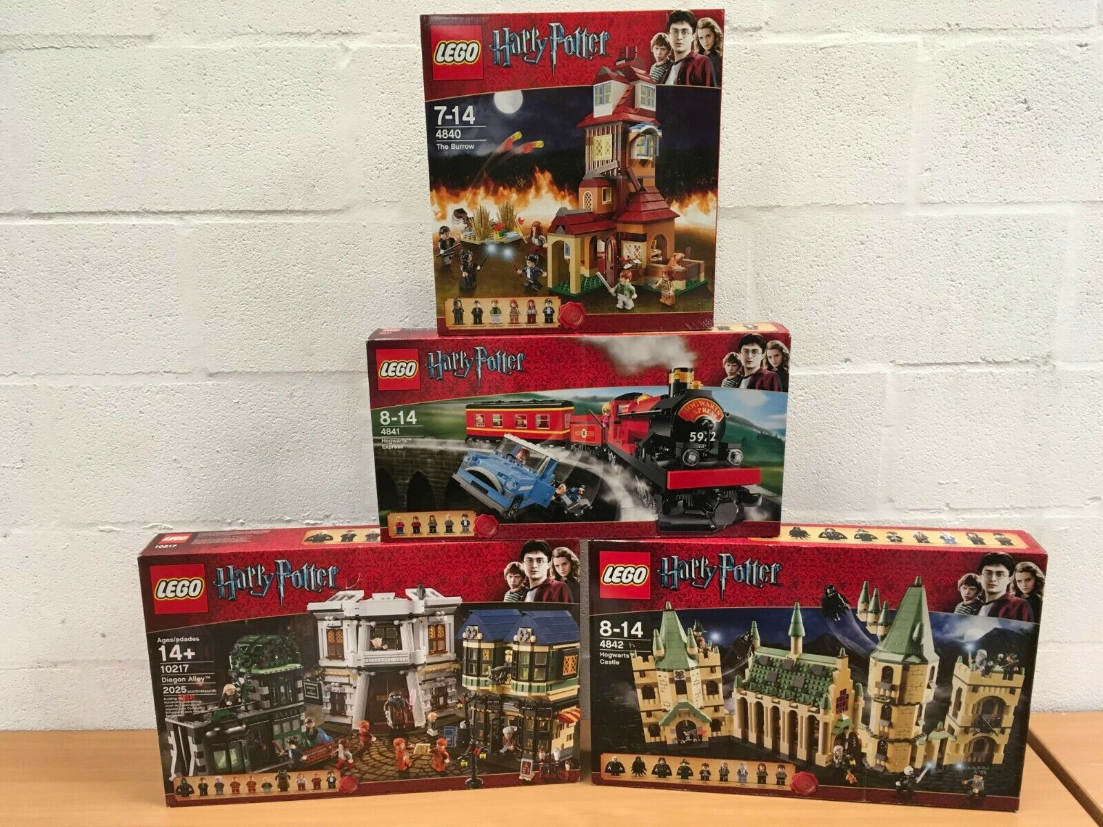 LEGO HARRY krukmakare 4840 4841 4842 10217 NY SEALD DIAGON ALLEY