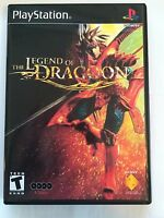 Legend Of Dragoon - Playstation - Replacement Case - No Game
