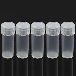 10pcs Mini Plastic Sample Bottle 5ml Small Bottle Vial