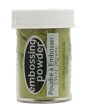 Stampendous Embossing Powder .63oz-Gold Opaque