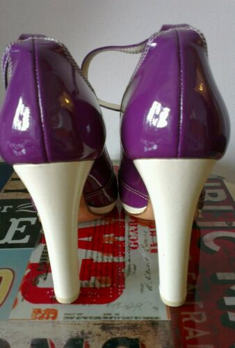 3 36 Prada Convient Purple Trop Uk Talons Slim Courts 4 Miu wYIqTT