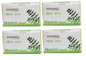 PATANJALI Neem Kanti Soap 150gm x 4 - Set of 4 | eBay