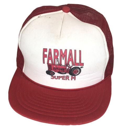 Farmall SUPER M Vintage Trucker Snapback Nissun Re