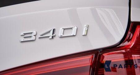 BMW GENUINE NEUF Série 3 F34 GT 16-17 embleme badge étiquette Autocollant 340i 7423946
