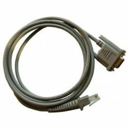 Datalogic CAB-350 RS232 Straight Cable 9-Pin Female with Direct Power
