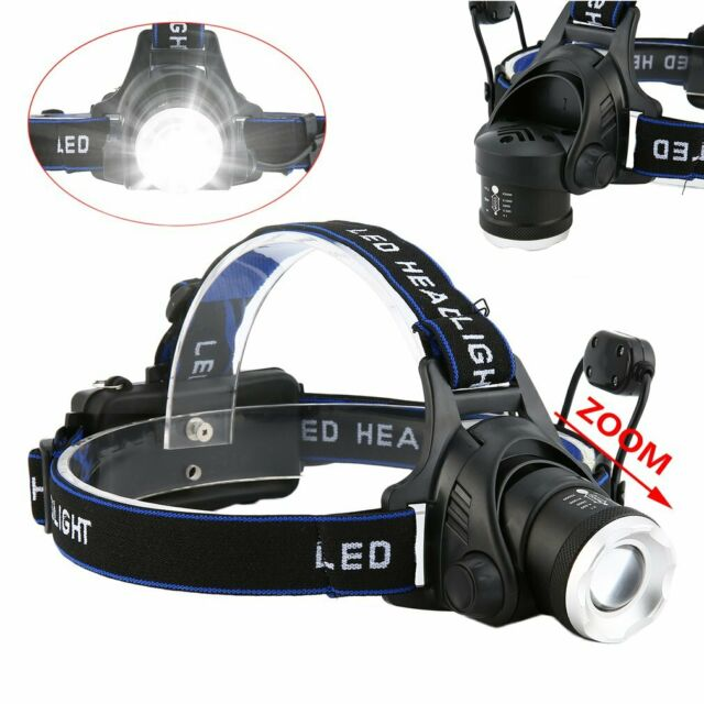 10000LM XM-L T6 LED Head Torch Headlight Headlamp Fishing Camping Light 3x18650
