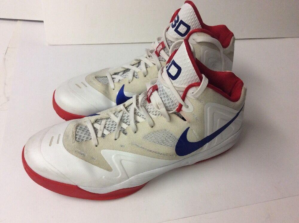 Nike Air Max Premiere M's Promo Sample Sz 14.5 653638-515293 3D White Royal Red