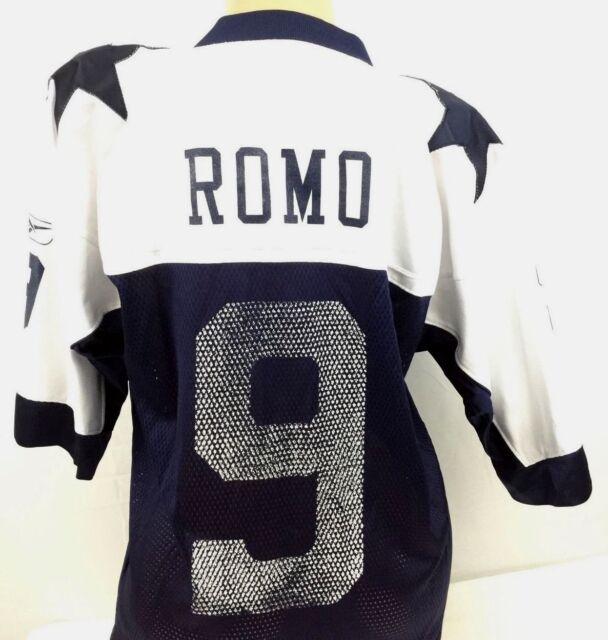 bb6d88d09 Reebok Tony Romo Mens Jersey  9 Dallas Cowboys Throwbacks Gridiron Football  Sz M
