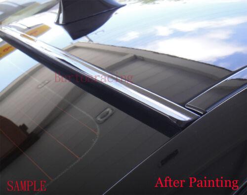 09 10 11 Unpainted For 2008-2012 HONDA ACCORD 4D SEDAN-Rear Window Roof Spoiler
