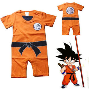 Baby Kids Toddler Dragon Ball Goku Bodysuit Jumpsuit Romper Fancy