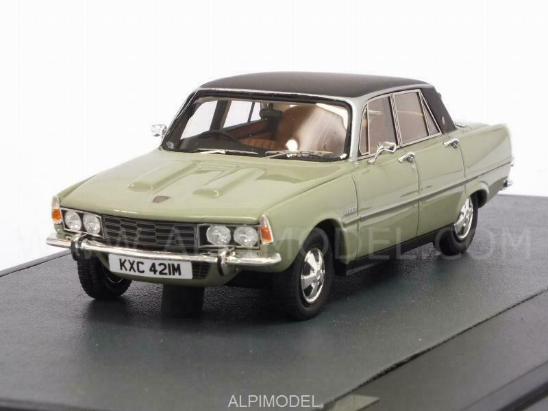 Rover 3500 P6B Saloon 1976 verde 1 43 MATRIX MX41706-021