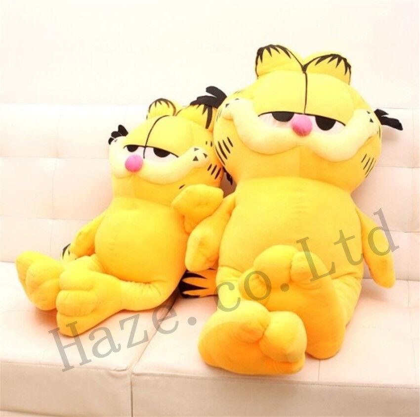 Garfield Plush leksak Söt katt Fylld Doll djur Sällsynt Figur Gåva för barn 5 Storlek