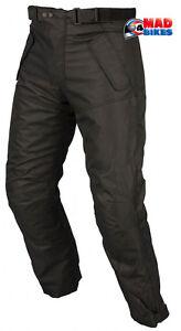 impermeable-moto-Pantalon-CE-Protection-Noir-moto-textile-thermique-pantalon