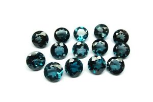 3mm 8mm Natural Kyanite Round Faceted cut Top Quality Loose Gemstone Lot