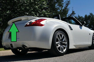 Pre Painted For 2010 2016 Nissan 370z Convertible Custom Rear