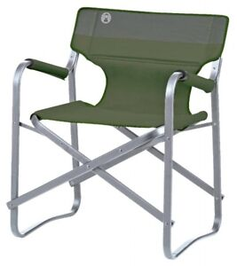 Coleman Camping Chair Deck Chair Green Folding Chair