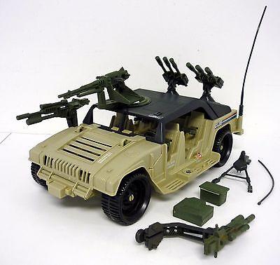GI JOE HAMMER Vintage Action Figure Vehicle NEAR COMPLETE 1990