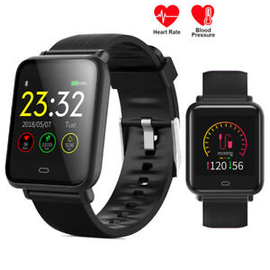 Details about Q9 Sport Heart Rate Blood Pressure/Oxygen Fitness Smart Watch  Wristband Bracelet