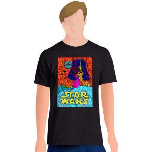 Licensed *NEW* Star Wars Luke /& Leia Pose Artwork Graphic Short Sleeve T-Shirt