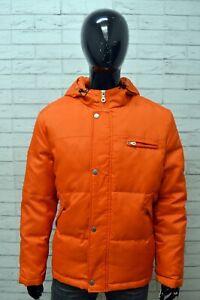 Giubbotto-Cappotto-Piumino-Giacca-Uomo-EFFECT-PROJECT-Taglia-Size-L-Jacket-Man