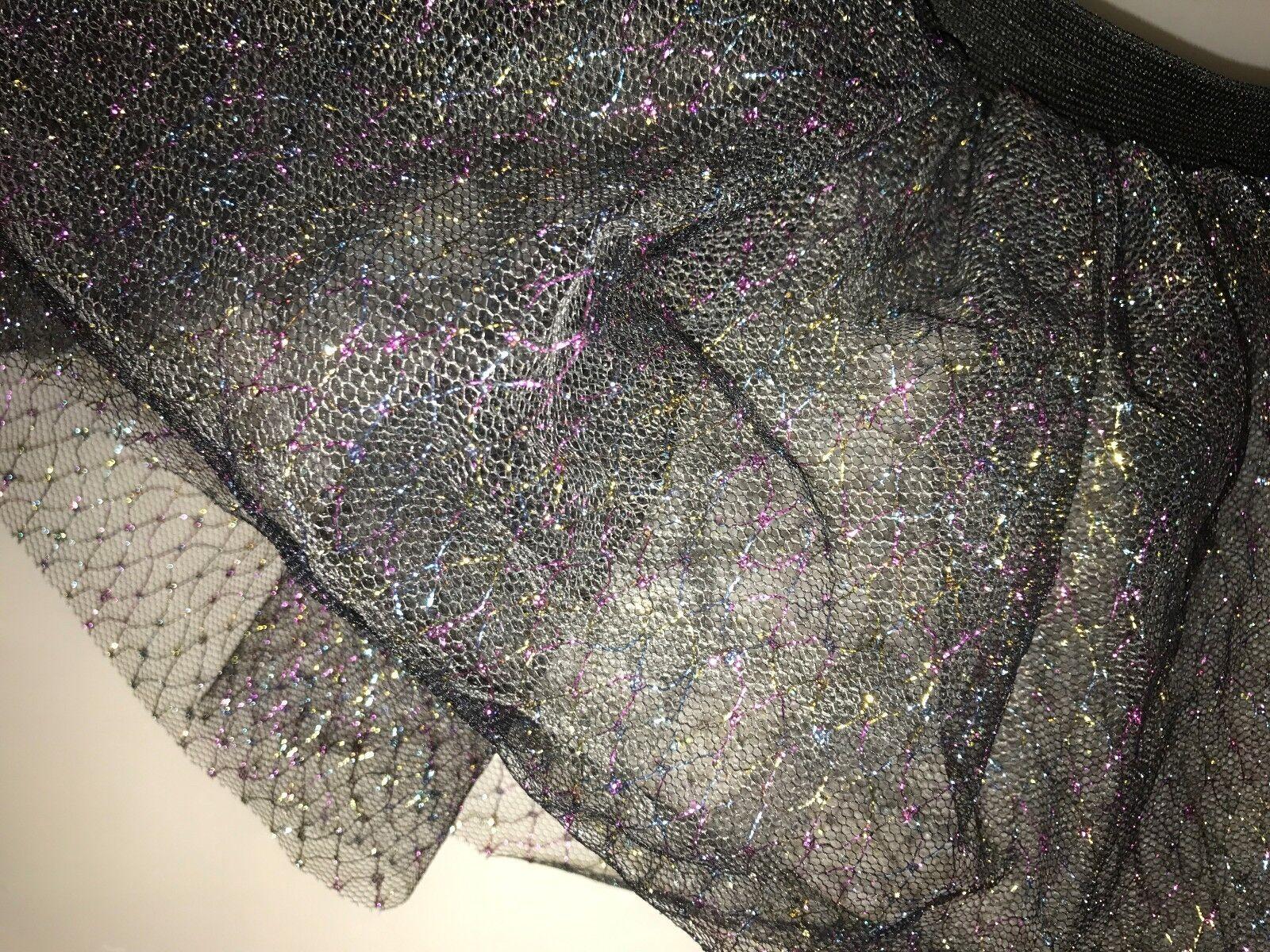 Multicoloured netting Tutu Skirt Hen Night/Party 6/16