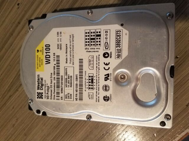 Western Digital Hard Disk Drive HDD WD100EB-00BHF0- Desktop PC WD100 10.0GB