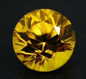 Natural-CERTIFIED-Round-Diamond-Cut-10-Ct-Yellow-Sapphire-Loose-Gemstone