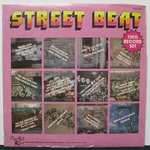 VARIOUS-039-STREET-BEAT-039-Grandmaster-Flash-SugarHill-Gang-Crash-Crew-2LP-SEALED
