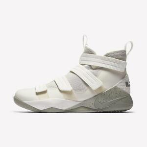 3b8ec6b2128e5 NIKE LEBRON SOLDIER XI 11 SFG 897646 005 LIGHT BONE WHITE DARK ...