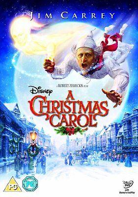 A Christmas Carol DVD By Jim Carrey,Steve Valentine 8717418253066   eBay