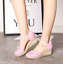 thumbnail 6 - Roman-Womens-Wedge-Mid-Heels-Strappy-Linen-Sandals-Pointy-Toe-Casual-Retro-Shoes