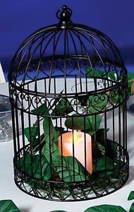 Black Birdcage Decorative Wedding Card Box Home Decor