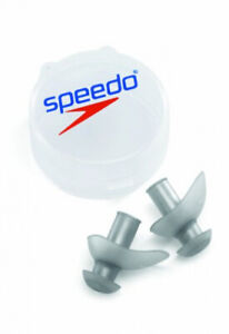 Speedo-FIT-Swimming-Ergo-Ear-Plugs-w-Case-Pool-Comfortable-Exercise-Swimmers