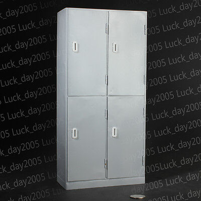 Toy Model 1:6 Scale Full Metal Filing Cabinet / Locker