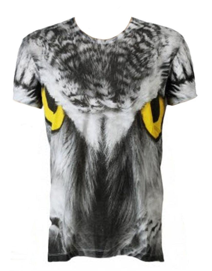 Sons of Heroes Men's Owl Eyes T-shirt White (SHTS011)