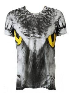 Yeux Heroes Of Sons shirt Blanc shts011 Chouette Homme T U5IHqwHfx