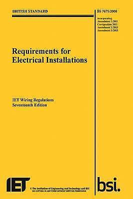1 of 1 - Requirements for Electrical Installations, Iet Wiring Regulations  9781849197694