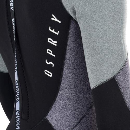 Osprey ZERO MEN/'S 5mm muta invernale piena lunghezza muta in neoprene grigio 5 4 mm