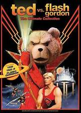 Ted vs. Flash Gordon: The Ultimate Collection (DVD, 2016, 3-Disc Set) Brand New