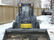 "1/2"" New Holland  DEMO Lexan Door plus Cab enclosure.skid steer loader glass"