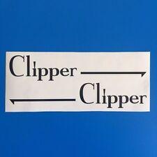 VW Golf Mk1 Cab Clipper Sticker replacement