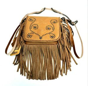 Paisley-Genuine-Leather-Purse-Leather-Fringe-Western-Country-Cowgirl-Clutch