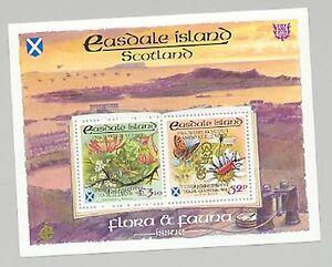 100% De Qualité Easdale (br Local) 1998 Scouts Double Gold O/p Papillons, Insectes 1 V M/s De 2-afficher Le Titre D'origine
