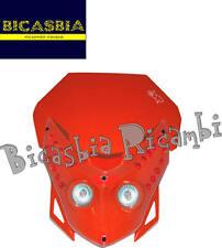8405 - MASCHERINA FARO ANTERIORE SENZA LED NERO ARANCIO ENDURO