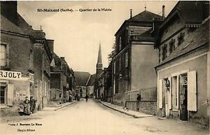 CPA St-MAIXENT - Quartier de la Mairie (391174)