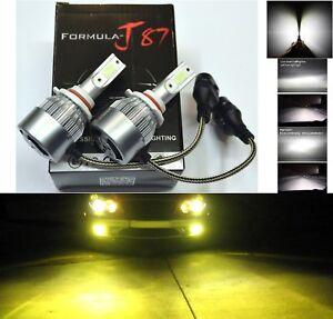 LED-Kit-C6-72W-9005-HB3-3000K-Yellow-Two-Bulbs-Head-Light-High-Beam-Upgrade-Lamp