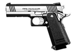 New-Tokyo-Marui-No-24-Hi-Capa-Custom-Dual-Stainless-Steel-Gas-Blow-Back-Gun